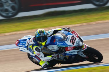 Alex Lowes made up for his mistake in the first race by getting a podium in the second.