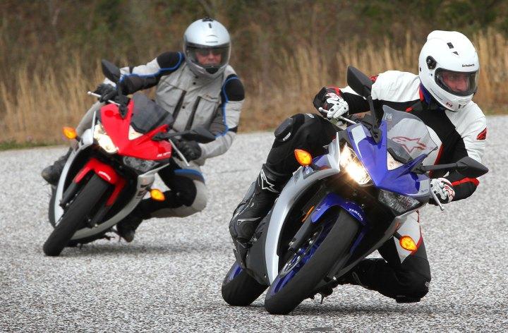 Yamaha R3 – Track impression