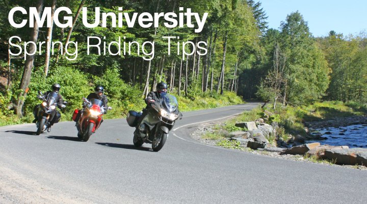 CMG University: Spring riding tips