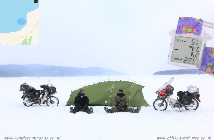 Ed March video update: Alaska, in winter, on C90s