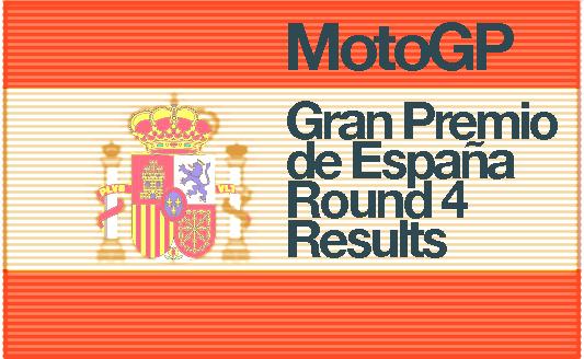 MotoGP – Round 4 Race Results