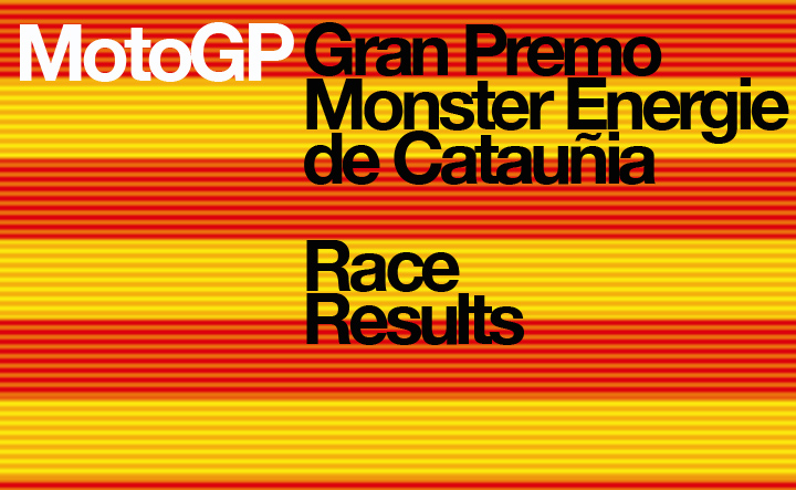 MotoGP – Round 7 – Catalan Race Results