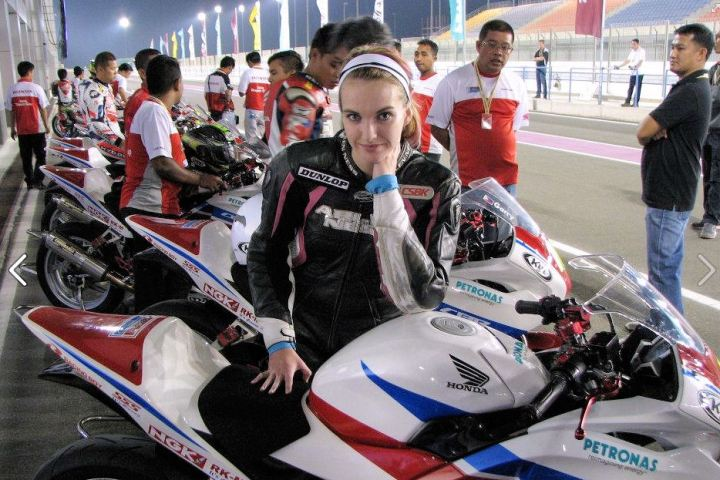 At the Losail circuit in Qatar, for the final rounds of the Asia Cup