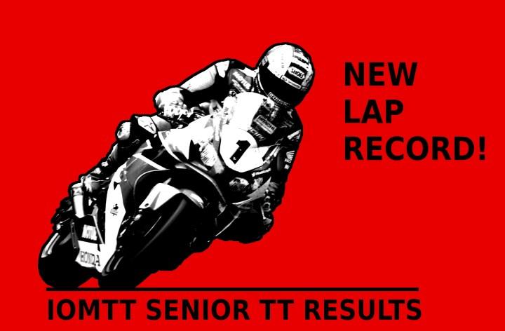 Poker Stars Senior TT results in new champion, new lap record