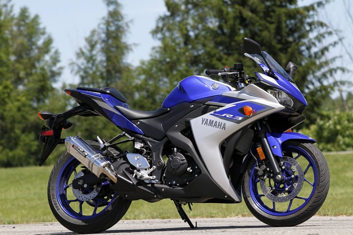 The Yamaha R3 is the company's much-teased, highly anticipated beginner bike, available in other markets as a 250.