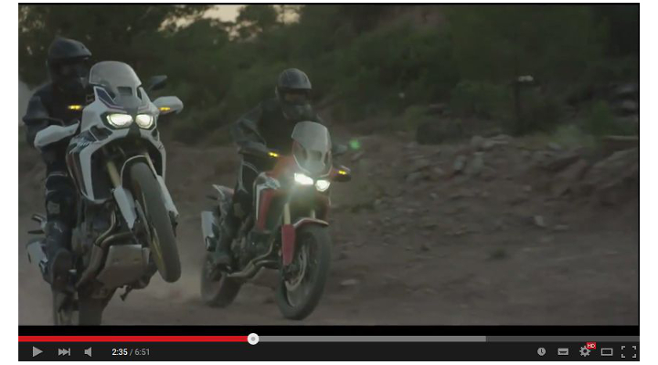 Video shows new Honda Africa Twin in action