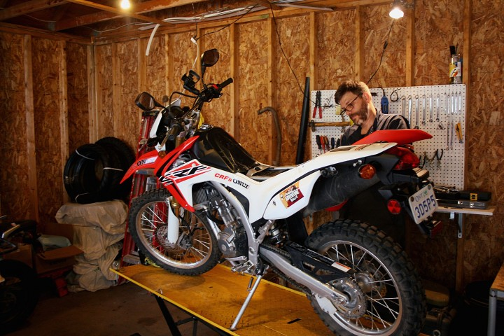 CMG Honda CRF250L project bike accessories Zac Kurylyk Photo 2