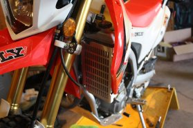 CMG Honda CRF250L project bike accessories Zac Kurylyk Photo