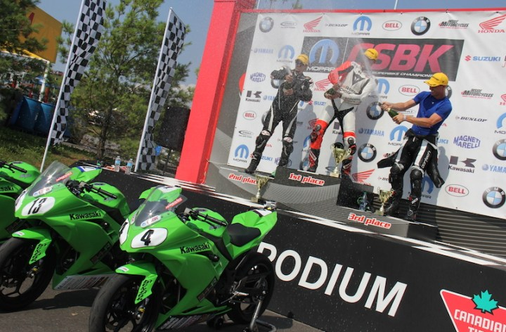 More details of CSBK's Ninja 300 series released