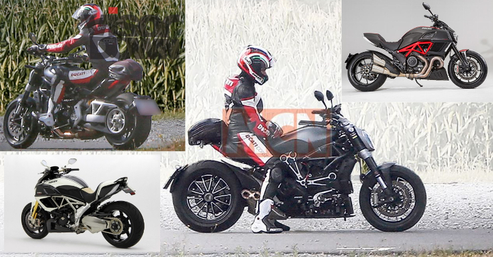 Brit mags report new Ducati Diavel en route