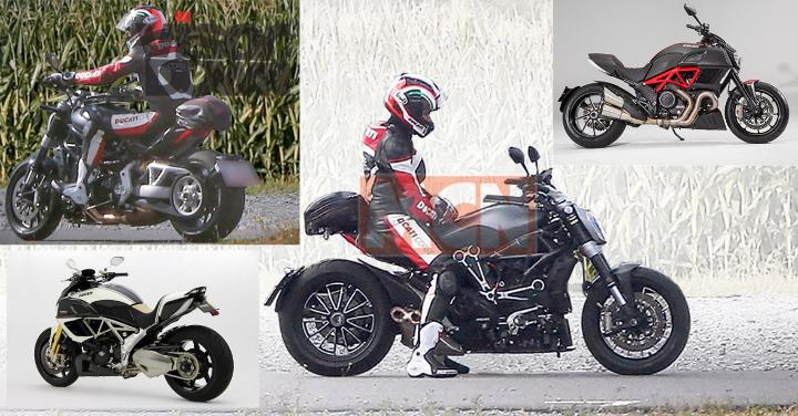Brit mags report new Ducati Diavel en route