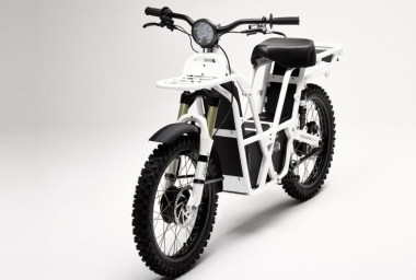 A lightweight electric step-through that just happens to have 2WD.