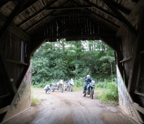 Editor 'Arris even managed to find a covered bridge for a classic NB photoshoot.