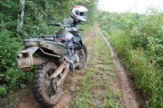 Tammy took the F 800 GS where she needed to go. It was a welcome upgrade over her KLR!