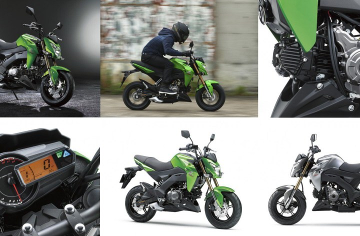 Kawasaki Z125 Pro is coming to Canada