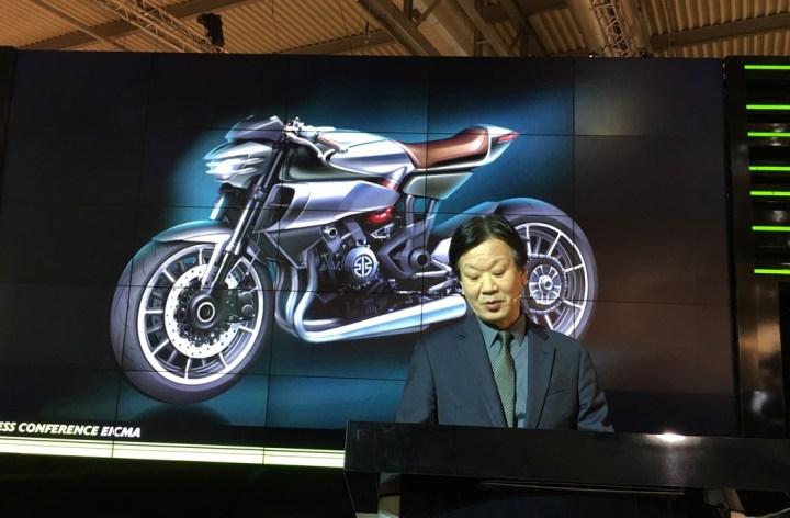EICMA: Kawasaki talks future plans