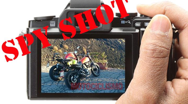Ducati Scrambler 400 spy shots