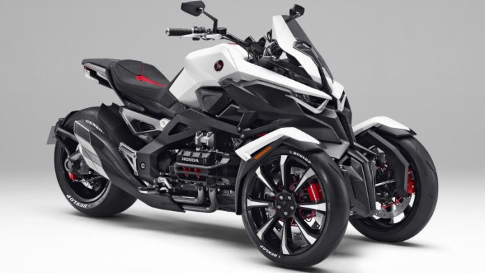 Honda Neowing leans in with hybrid drive train and the promise of super sport performance