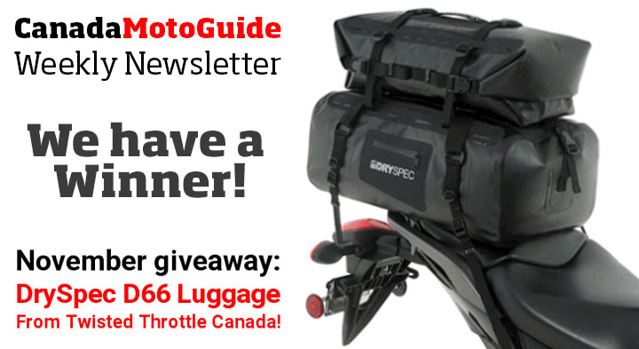 CMG Newsletter draw winner
