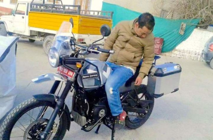Another week, another Royal Enfield Himalayan spy shot