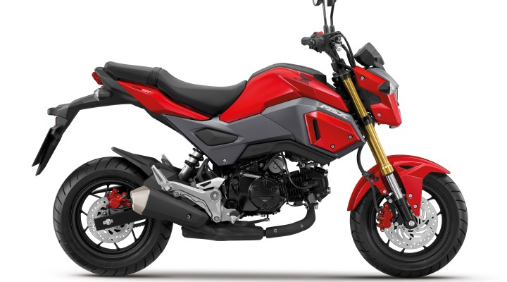 No updated Grom in Canada for 2016