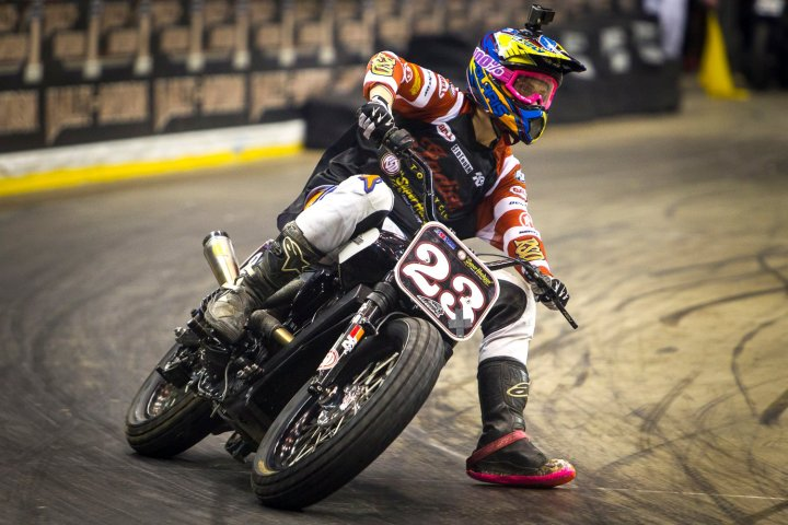 Indian is going flat track racing (or so it appears)