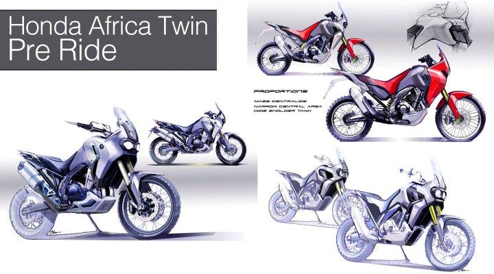 Honda Adventure launch – pre ride