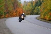 Think Canada doesn't have good riding? The province of Quebec has some of the as good as anywhere else in eastern North America.