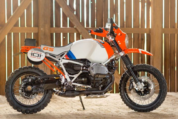 BMW builds a cool Dakar homage