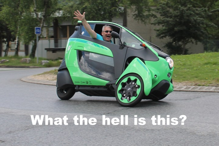 Motorcycle or car? We're not sure about the i-Road