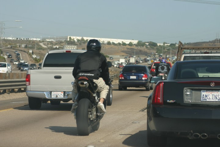 Lane-splitting about to become enshrined in California law, get guidelines