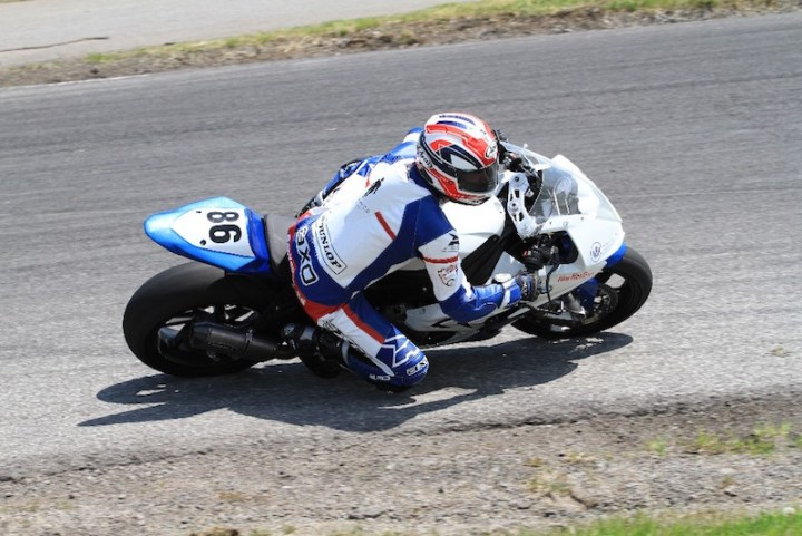CSBK's Ben Young featured on Go Nitro