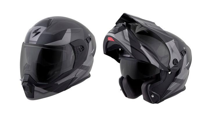 Scorpion rolls out flip-up dual sport helmet
