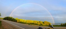Rainbows start and end in Cape Breton. Who knew?