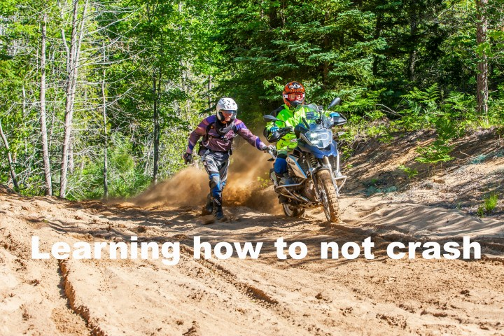 BMW's adventure training school in Ontario