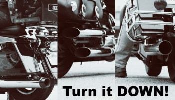 The problem with loud pipes | Canada Moto Guide