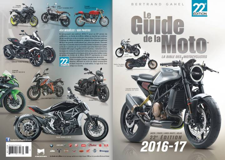 Guide de la Moto launches latest edition
