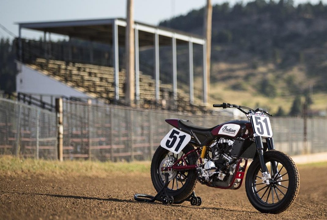 The Indian FTR750 factory flat track racer is now officially for sale