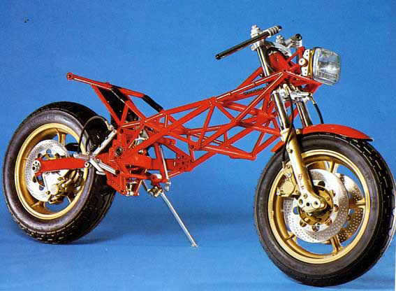 Some assembly required : the 1982 Biota KB-2 took the strong power plant of a Kawasaki GpZ but replaced everything else with race track inspired technology. The result was Japanese muscle in a package that could handle.