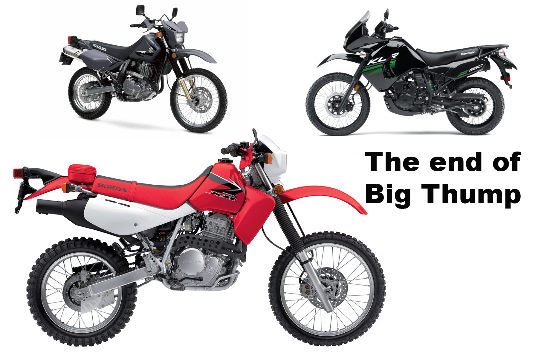 The end of Big Thump | Canada Moto Guide