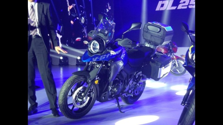 Suzuki shows V-Strom 250 concept