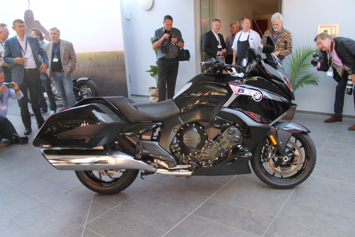 Debut: BMW officially launches new K1600 B bagger