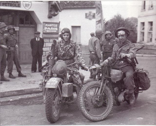 Allied motorcycles in wartime