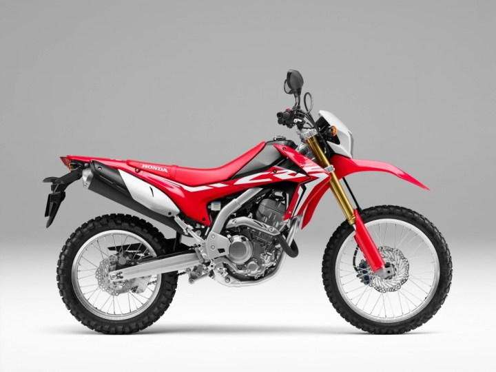 EICMA: Honda CRF250L updated for 2017