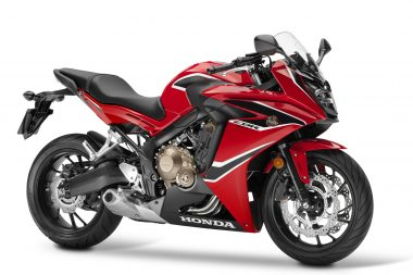 Changing emissions laws saw several bikes like the CBR650 (pictured) getting mild makeovers.