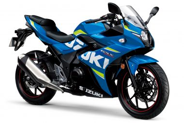 In a sign of where entry-level bikes are headed, Suzuki confirmed their made-in-China GSX-250R will head to developed markets.