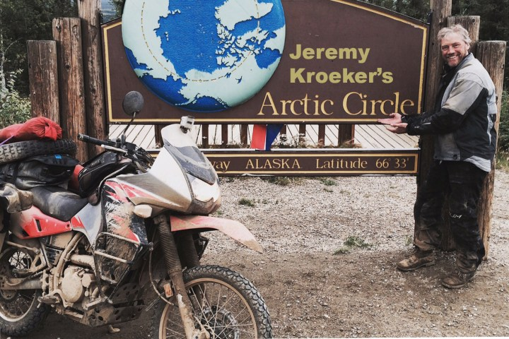 Riding to Alaska's Arctic Circle