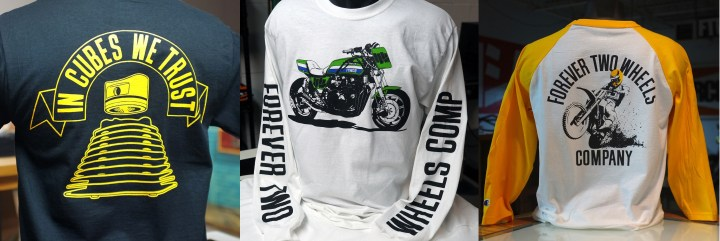 FTWCO has T-shirts for riders of any type.