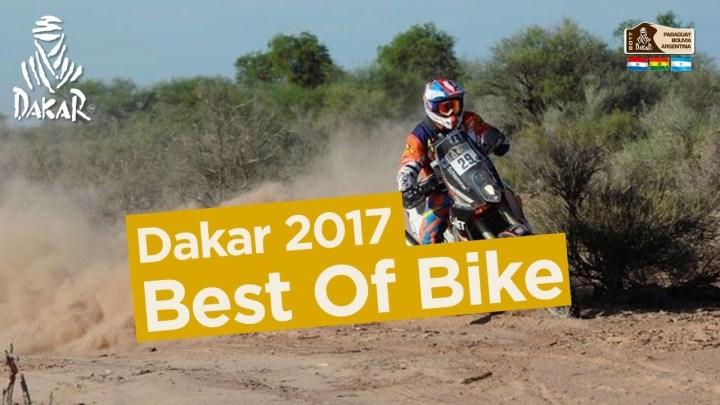 Video: Best of bike action from Dakar