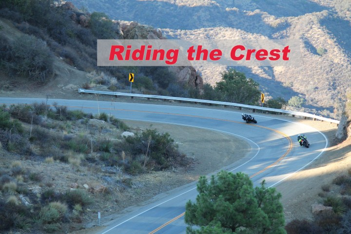 Winding it up on the Angeles Crest